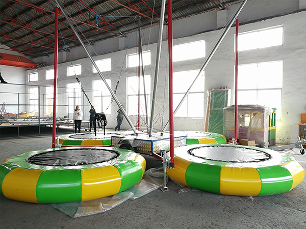 Four Person Bungee Trampoline