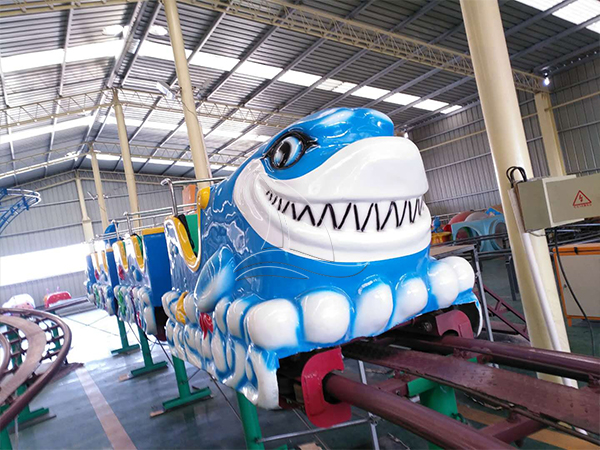 New Design Shark Mini Roller Coaster
