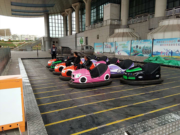 Amusement bumper cars