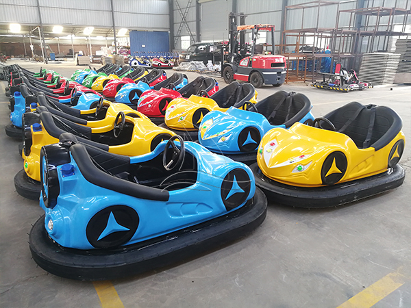 Steel bumper cars