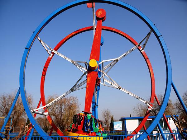 Amusement ferris ring rides