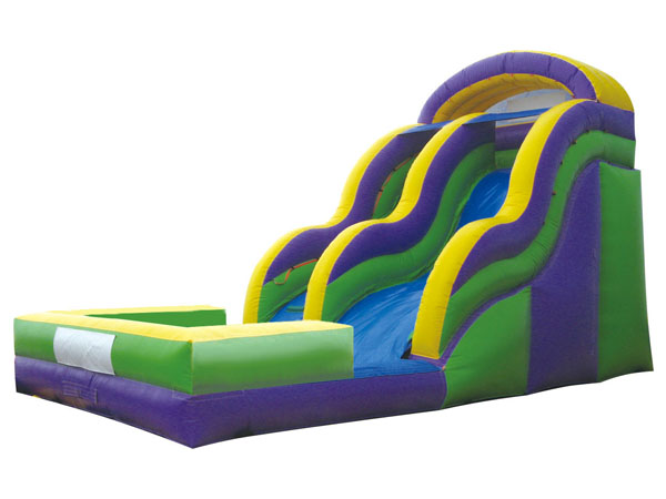 Inflatable water slide clearance