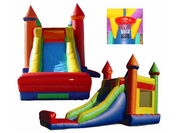 Inflatable bounce slide for sale