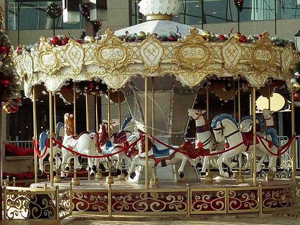 Theme park merry go round