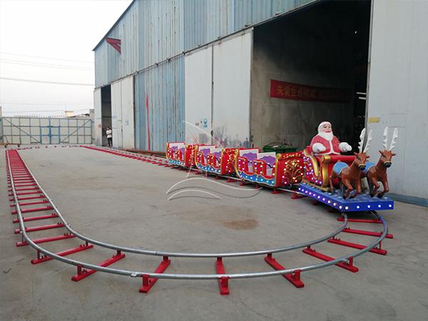 Christmas kids train