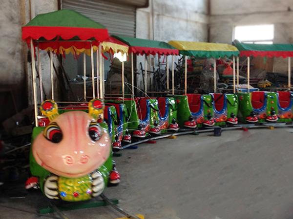 Cute electric ant train
