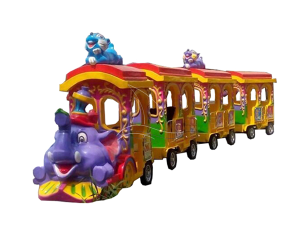 Luxury elephant track train