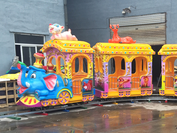 Why are elephant trains so popular?
