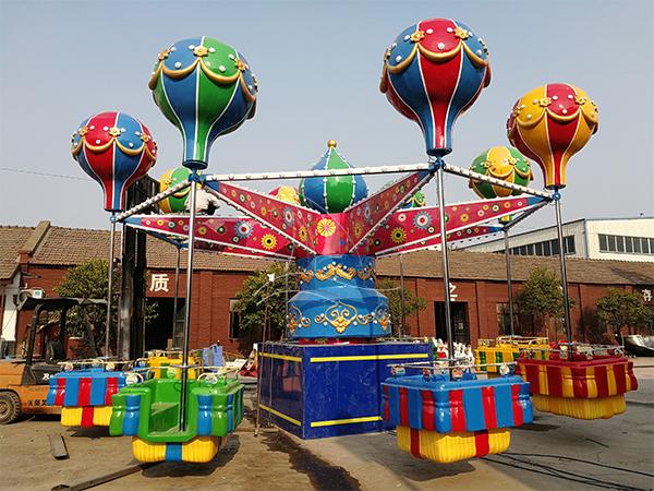 Samba balloon rides