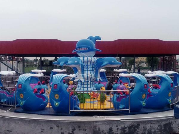 Popular Shark Island Ride