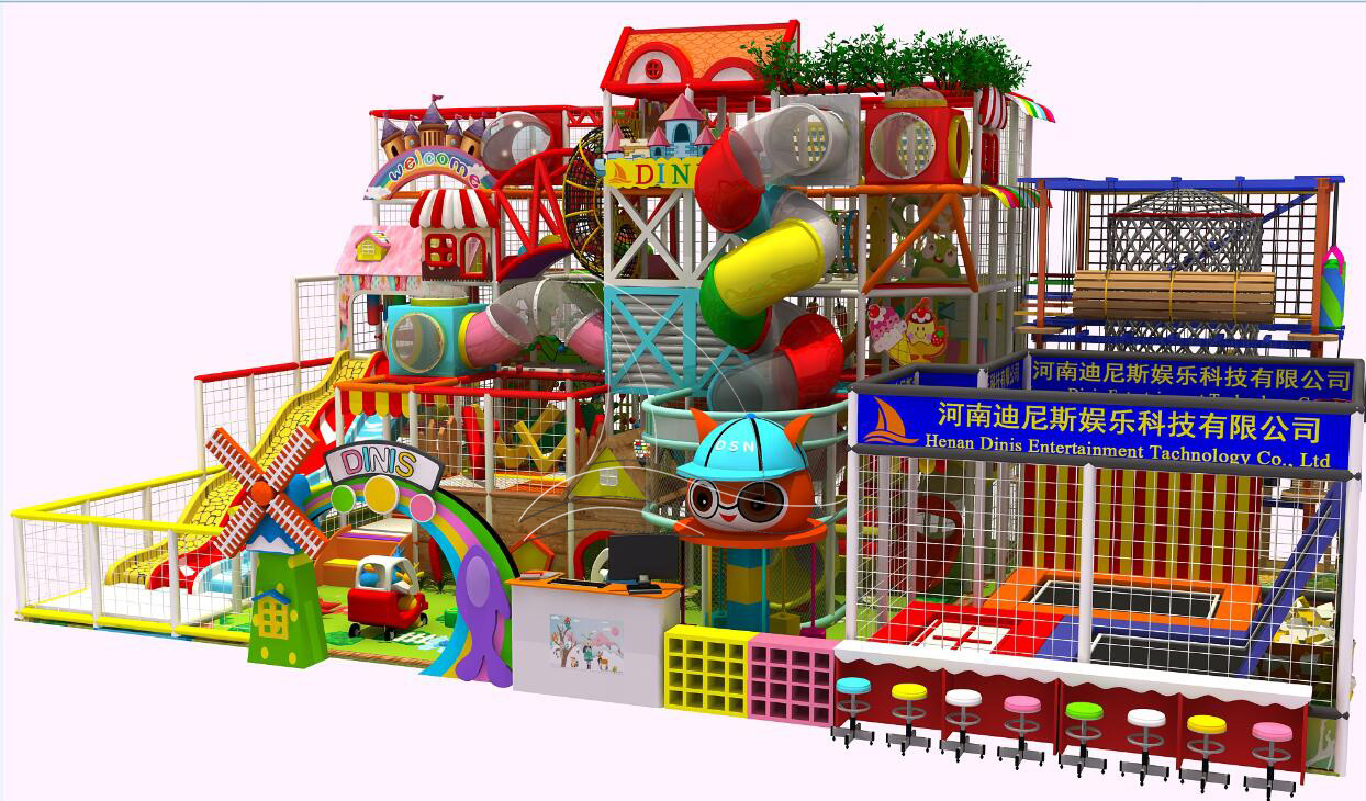 How to choose the business site of amusement equipment?