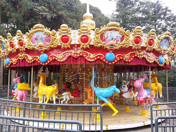 European style carousel horse
