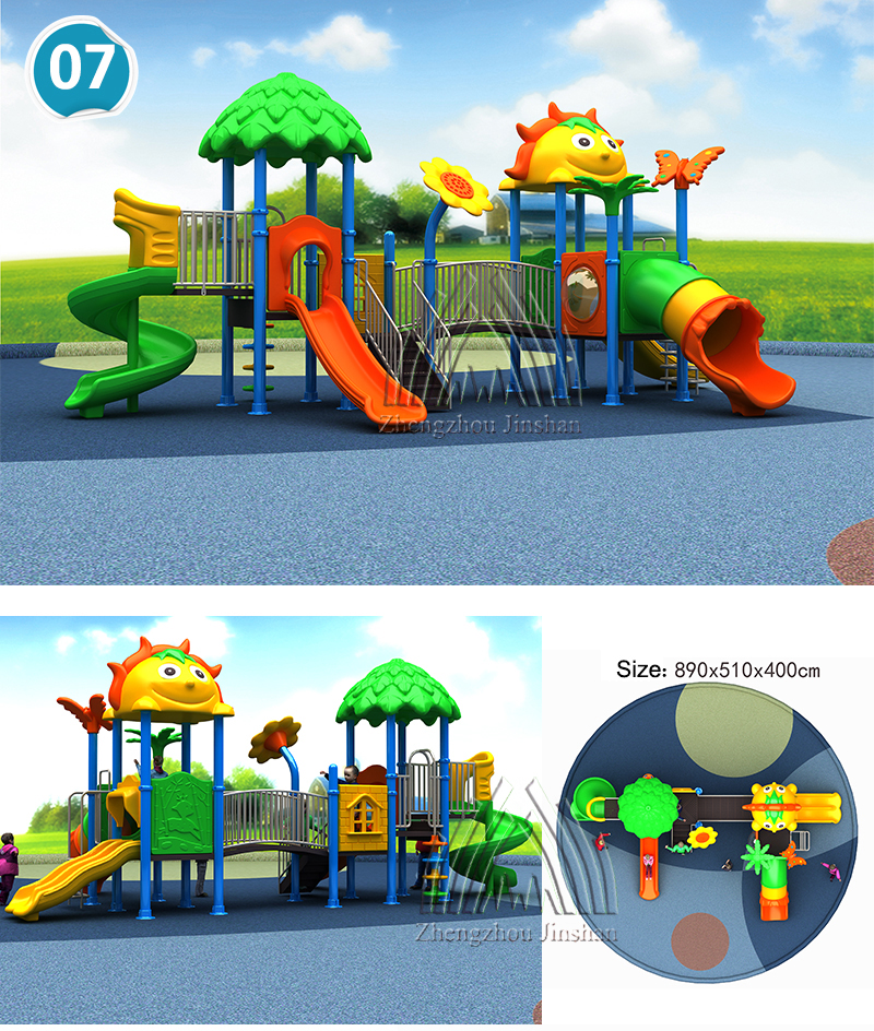 Beautiful Outdoor Slide Playground Equipment Child Rides