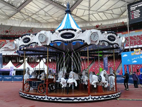 Customized longines carousel horse