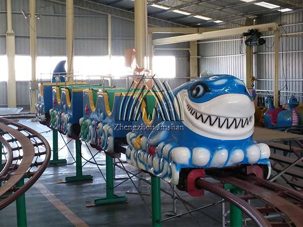 New Design Shark Mini Roller Coaster