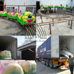 Shipping Small Wacky Worm Roller Coaster to France