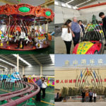 Australian Customers Came to Visit Our Factory and Ordered for Amusement Equipment