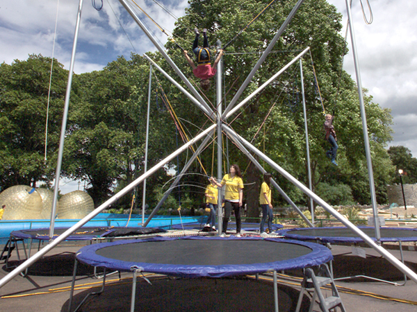 Portable Bungee Trampoline