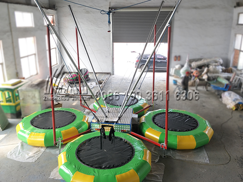 Portable Bungee Trampoline (5)