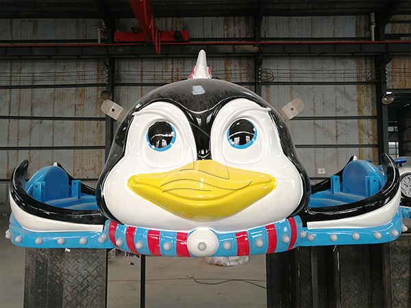Park Penguin Pulley Roller Coaster