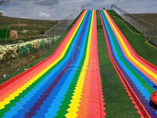 Wave Rainbow Dry Snow Slope Slide