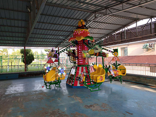 The maintenance of kids amusement equipment is very important