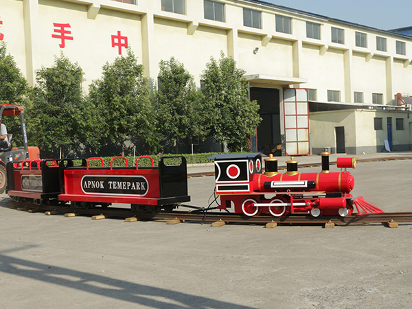 New Style Simulated Steam Track Train Ride
