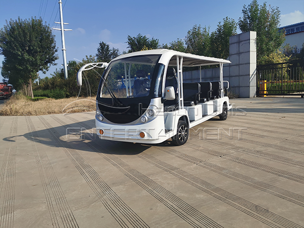 14 Seats Sightseeing Car For Sale